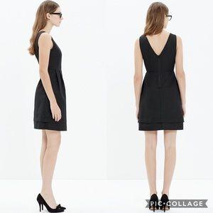 ‼️MADEWELL‼️GOLD DOTS BLACK DRESS